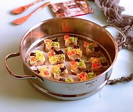 年夜饭必备食谱~四喜蒸饺的做法