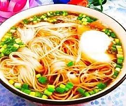 红汤面的做法