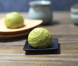 过节应个景,做几个抹茶蛋黄酥的做法