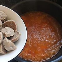 西红柿酸汤肉丸面 #父亲节,给老爸做道菜#的做法图解12