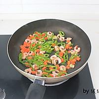 虾仁芝士焗饭的做法图解3
