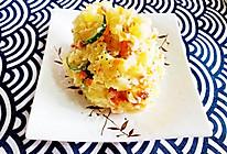 #合理膳食 营养健康进家庭#丘比酱哈尔滨红肠土豆泥沙拉的做法