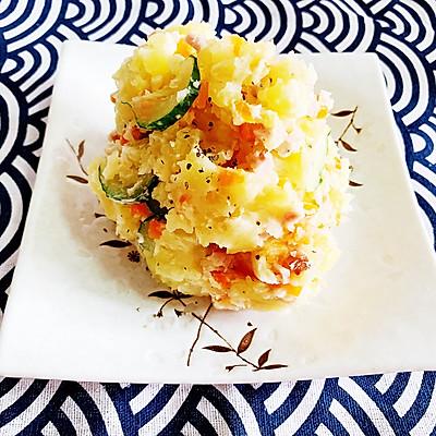 丘比酱哈尔滨红肠土豆泥沙拉
