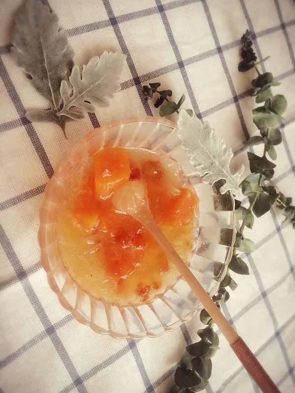 桃胶雪燕皂角米炖木瓜的做法