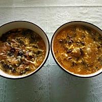 西红柿紫菜鸡蛋面疙瘩汤