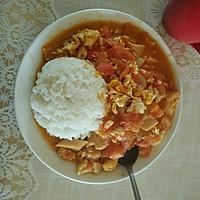 一个人的午餐——西红柿鸡蛋盖饭的做法图解7