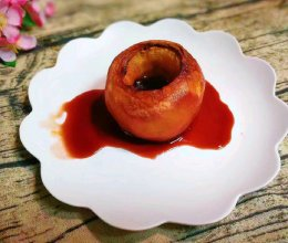 红酒烤苹果的做法