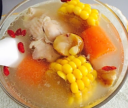 栗子鸡汤高压锅版的做法