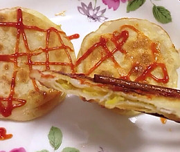 【饺子皮香蕉饼】的做法