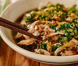 葱油鸡 | 鲜嫩多汁制作便捷的广式冷盘的做法