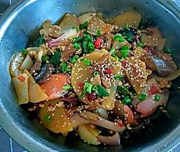 干锅素菜的做法