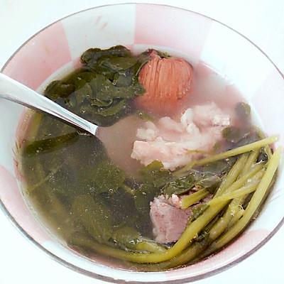 广东老火靓汤之西洋菜猪骨汤