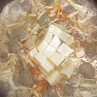 之菌菇牛肉丸汤#大喜大牛肉粉试用#的做法图解5