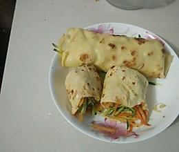 蔬菜鸡蛋卷饼的做法