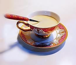 茉莉花香奶茶的做法