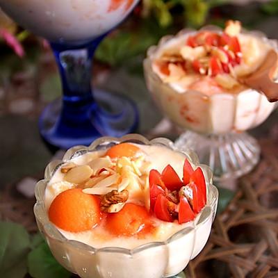 木瓜苹果酸奶