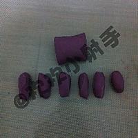 紫薯玫瑰花馒头的做法图解6