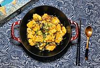 #好吃不上火#珐琅锅干锅鱼块的做法