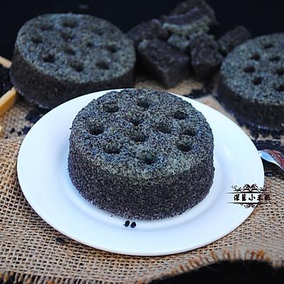 煤球蛋糕~蒸着吃