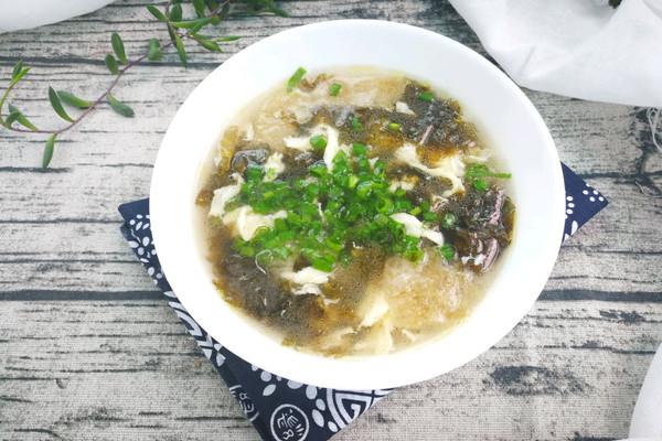 紫菜蛋花汤#金龙鱼外婆乡小榨菜籽油 最强家乡菜#的做法