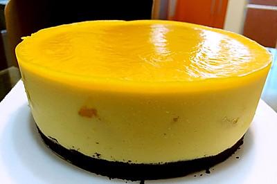 芒果慕斯蛋糕(奶酪版)