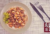 黑胡椒蒜子牛肉粒的做法