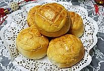 蜜豆菠萝包#蒸派or烤派#的做法