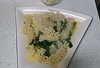 韭菜鱿鱼花的做法