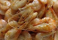 炸海白虾的做法
