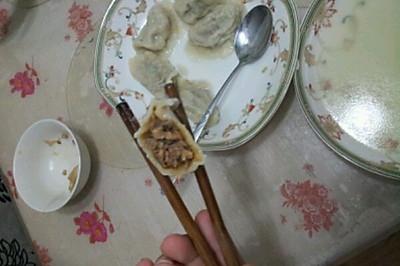 牛肉香菇馅饺子