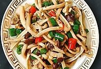 #我们约饭吧#干锅茶树菇的做法