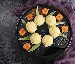 冬日养生豆腐丸,蒸出来的健康素食,满满蛋白质!的做法