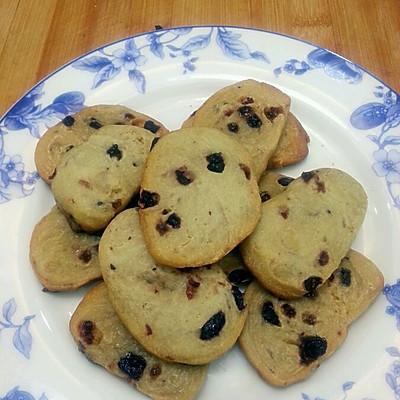 电饭煲烤饼干!!蓝莓蔓越莓饼干