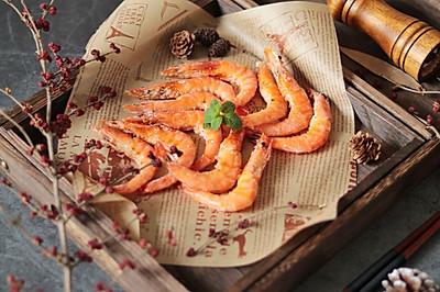 超级简单美味的盐焗大虾