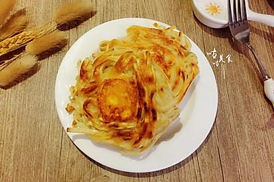 鸡蛋面条煎饼