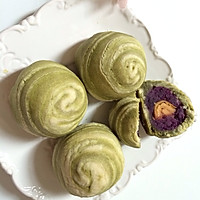 螺旋紫薯酥的做法图解7