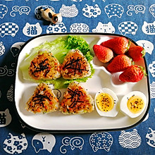 日式煎饭团