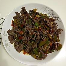 四椒炒牛肉