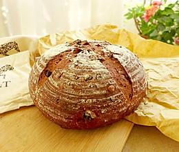 果仁乡村面包#我的烘焙不将就#的做法