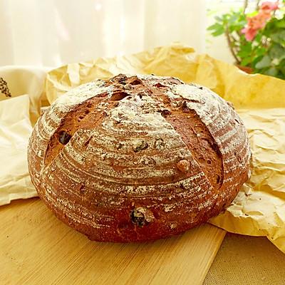 果仁乡村面包