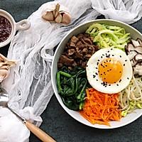 五彩韩式拌饭#520,美食撩动TA的心!#的做法图解10
