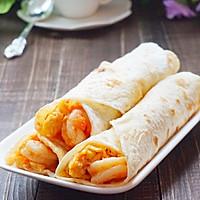 鲜虾鸡蛋卷饼~美味卷起来的做法图解17