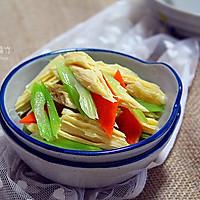 【凉拌芹菜腐竹】炎炎夏日的爽口小菜的做法图解10
