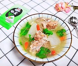 补钙长高高必吃的冬瓜排骨汤的做法