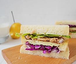 减脂期快餐金枪鱼三明治#春天不减肥,夏天肉堆堆#的做法
