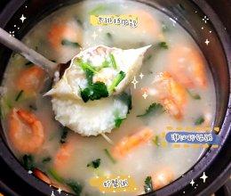 #正宗潮汕砂锅粥 虾蟹粥的做法