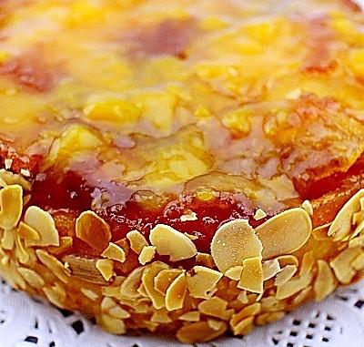 法式反转苹果蛋糕