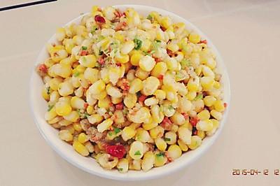 椒盐玉米粒(简单速成)