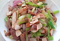 详细版肉炒三丝@洋葱豆干芹菜的做法