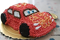 可爱的小汽车生日蛋糕儿的做法